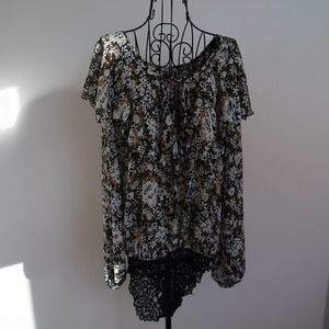 Intimately Free People blouse bodysuit